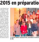 LE TELETHON 2015 EN PREPARATION